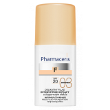 Pharmaceris F sanfte Fluid Grundierung bronze
